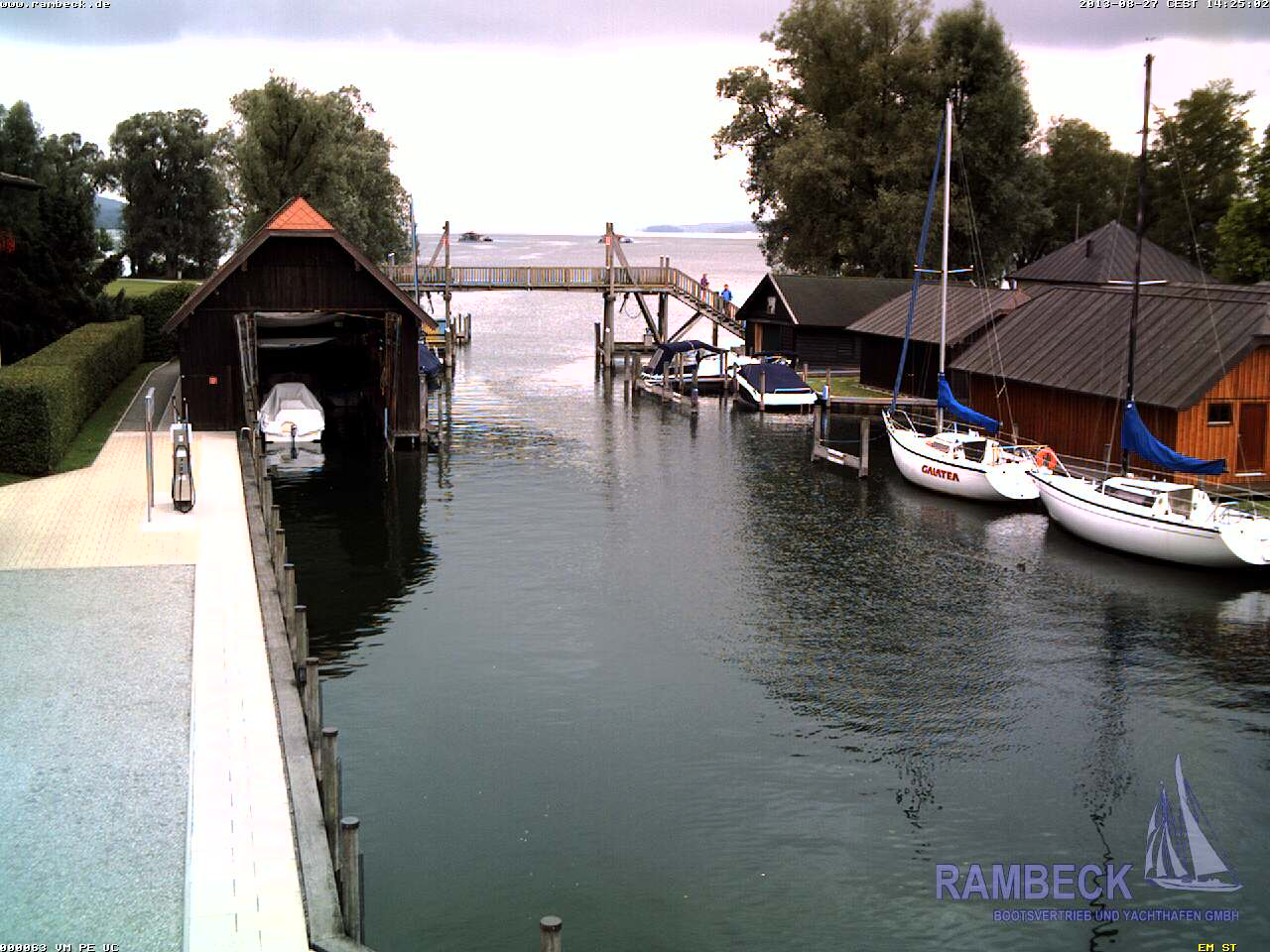 Starnberg Yacht Club Rambeck in the Percha District